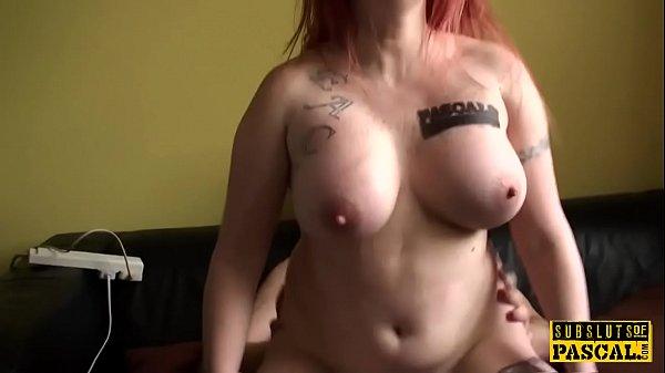 Big Tit Redhead Riding Dick