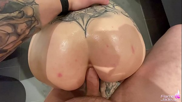Flame Jade Hard Anal and Ass too Mouth - Facial POV