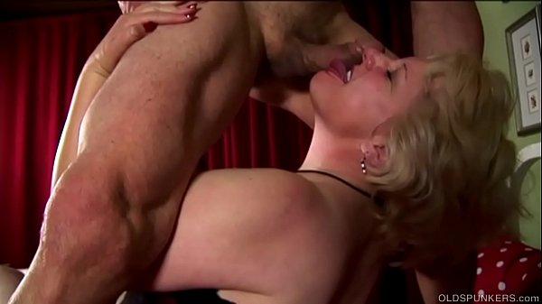 Supe cute chubby old spunker loves fucking & facial cumshots