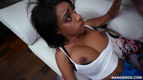 Awesome Black Babe with Natural Tits