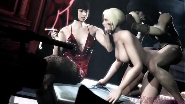 Tekken Request futa on Female wonder woman