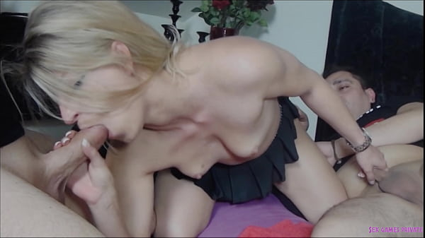 Number of horny people swinging - filthy blondi...