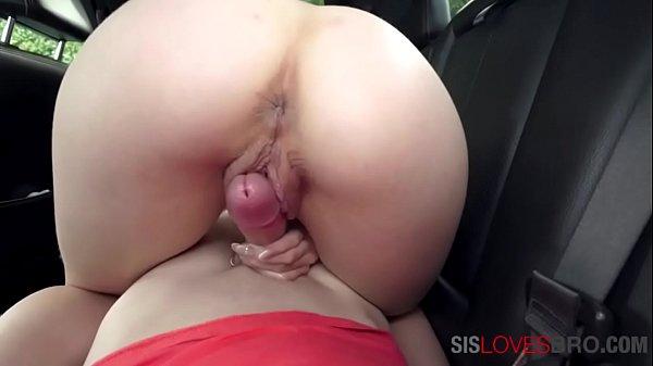 Teen Sister Seduces Brother In Car- Scarlett Fall