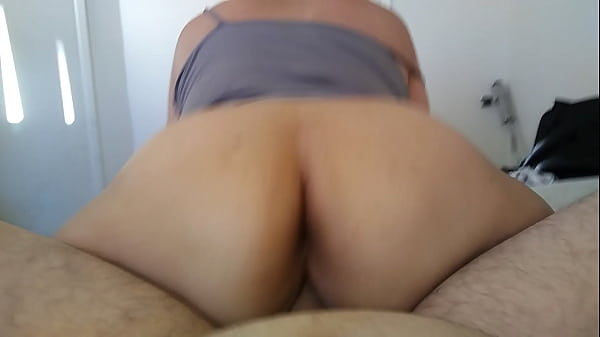 Bbw asian riding reverse cowgirl