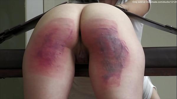 Severe punishment of beautiful girls. Thumb