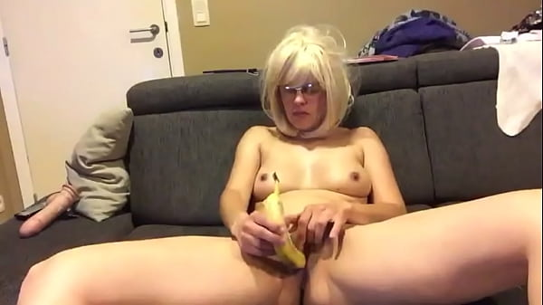 SLUT blows and fucks COCKS, DILDOS and BANANAS Thumb