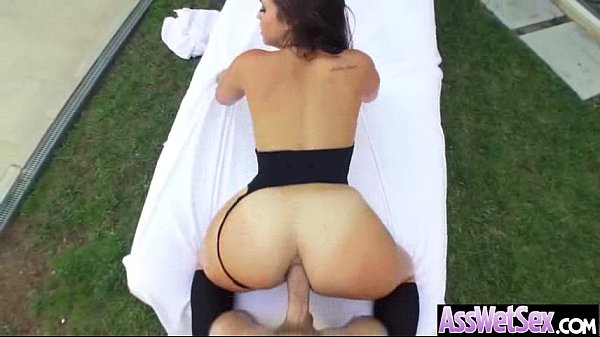 (kelsi monroe) Big Butt Girl Oiled All Over Get Anal Nail video-14