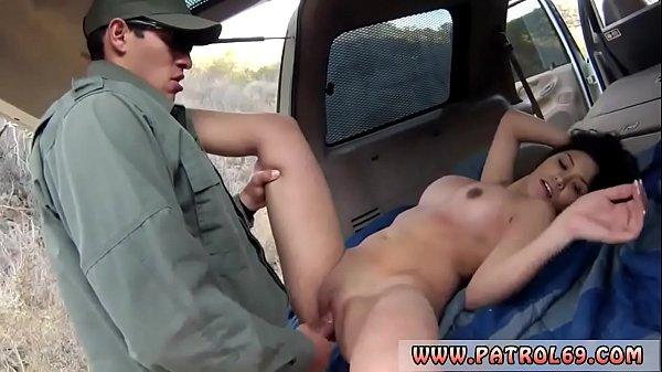 Ebony fucks before cops xxx Busty Latin floozie Alejandra Leon kindly
