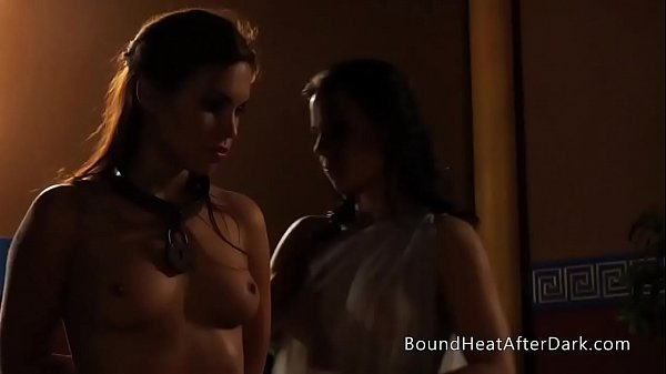 The Roman Dreams: Bound Slave Groped And Spanked For Mistress