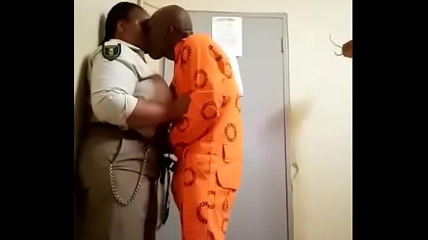 Thick black prison guard 3