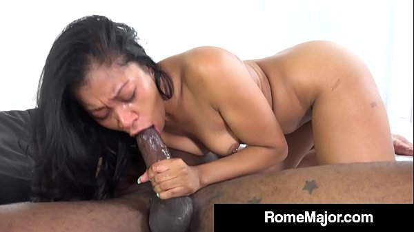 Yasmine De Leon Sucks Rome Major's Big Black Co...