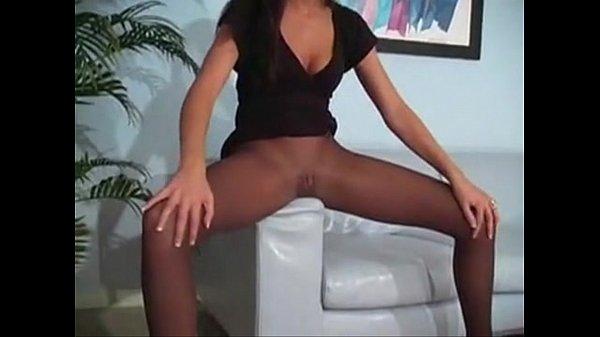 Tiffany Brookes pantyhose action