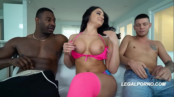 Interracial DAP to the XXXtreme with Sheena Ryd...