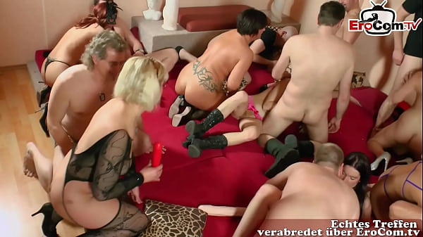 deutsche amateur swinger party mit echten paare...