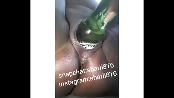 Jamaican Pussy With Bottle in It Pussy Play