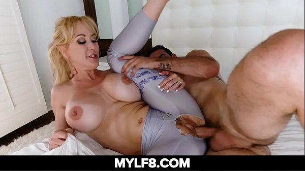 Horny Milf Fucks Her Young Neighbor Boy