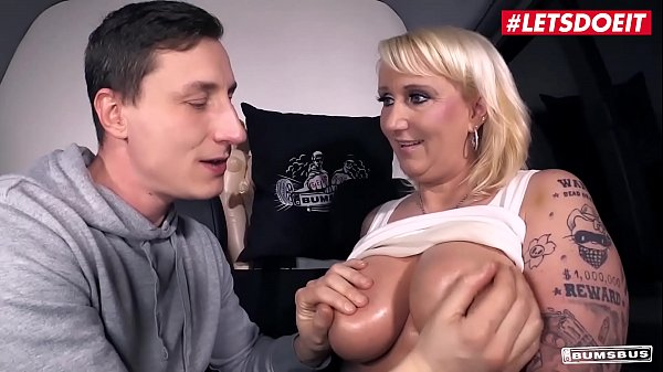 LETSDOEIT - German Hot BBW MILF Kitty Wilder Takes Hard Cock On The Bang Bus