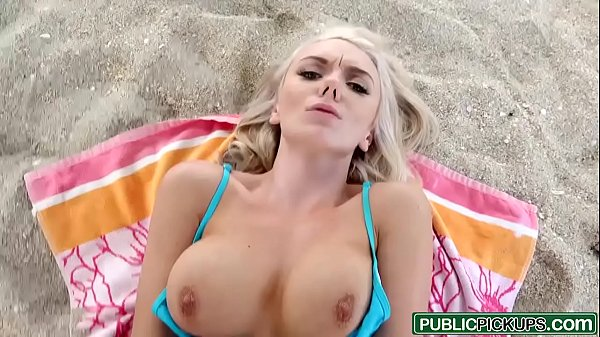 Public Pick Ups - Hot Blondes First Public Sex starring Molly Mae and Tony Rubino Thumb