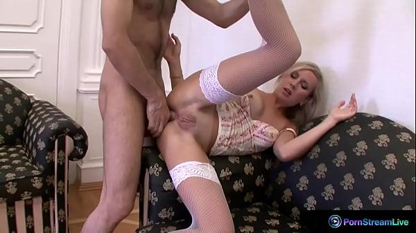 Blonde Nastia is an anal sex addict