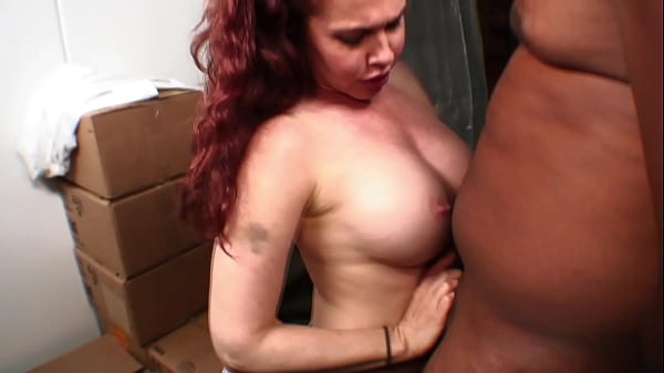White whore gets blackmailed by her boss to keep her job