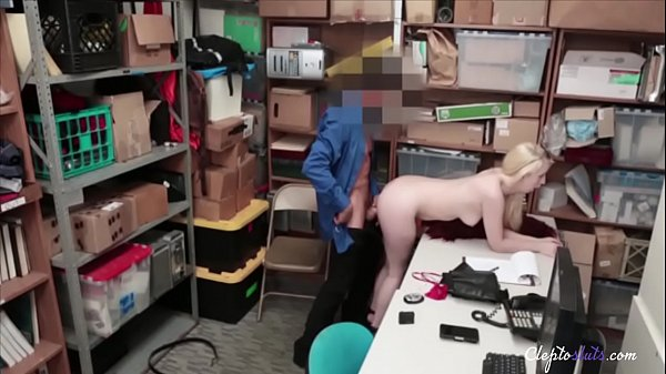 Skinny Blonde 18yo Fucked By Security- Darcie Bell