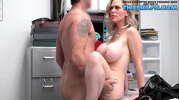 Security Guard Wants To Fuck That Big Ass and Big Boobie Milf - Casca Akashova, Rusty Nails - Shoplyfter Mylf