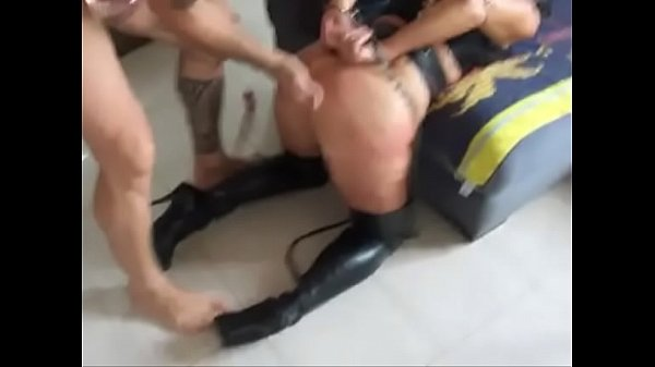 Homemade BDSM - tied slut and fucked hard her ass