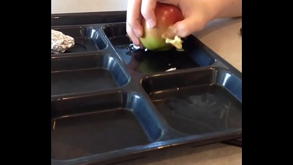 teen buddy publicly humiliates fruit with his sexhands