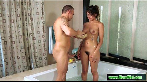 Busty masseuse sucking and fucking during massage 05