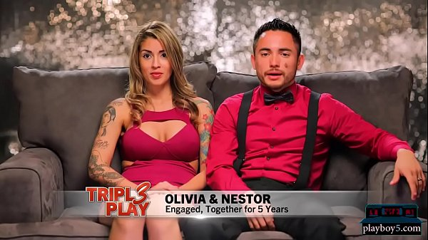 Tattooed couple looks for a threesome with a bi...