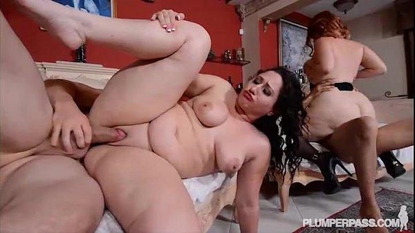 Mazzaratie Monica and Vanessa Blake in Hot Anal 4some
