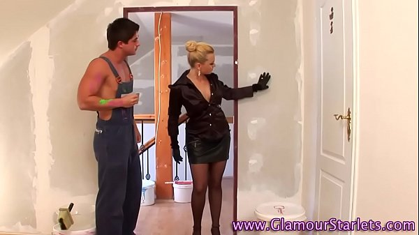 Glam euro slut gets wam Thumb