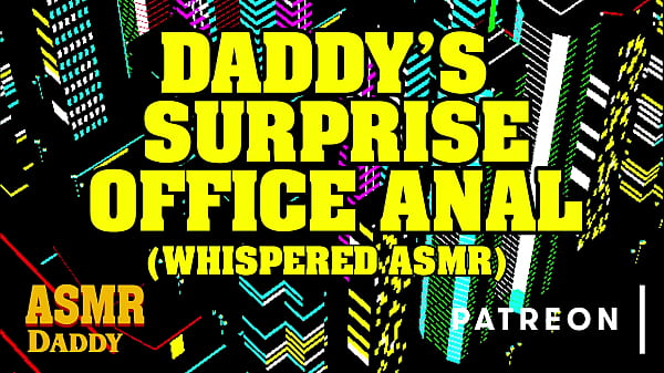 ASMR Daddy Surprises You At Work & Fucks You In Your Office (Actual ASMR Audio)