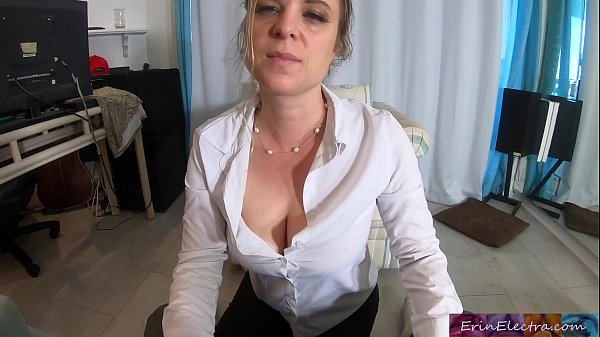 Stepmom teaches stepson about sex and lets him practice in her pussy – Erin Electra
