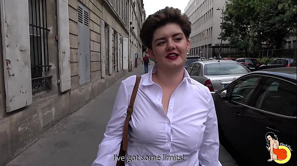 Sexy chubby Adèle comes to get fucked in the ass before to get an interview Thumb
