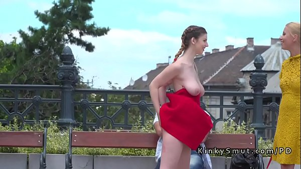 Crawling babe outdoor tits huge natural rather valuable