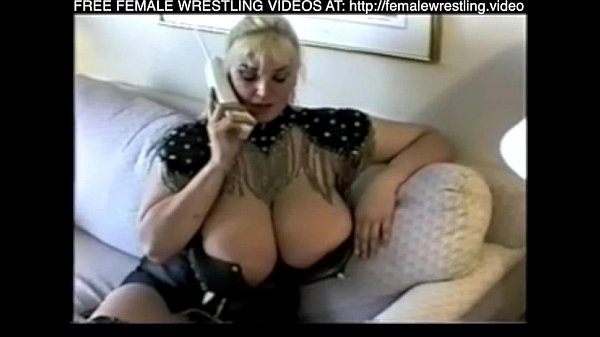 Enormus tits and her friend wrestling sex