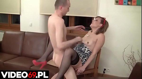 Polskie porno - Księgowa wykorzystuje pracownika