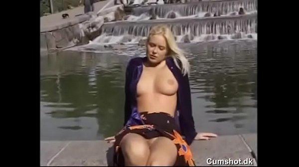 Dina Jewel fucks in public (no sound)