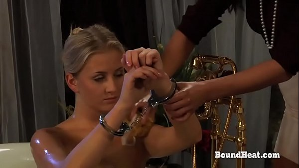 Disappeared On Arrival 2: Busty Maid Wash And Shaves Handcuffed Slave Thumb