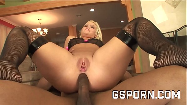 The hot ass of sexy Emma Heart fucked by a big black cock