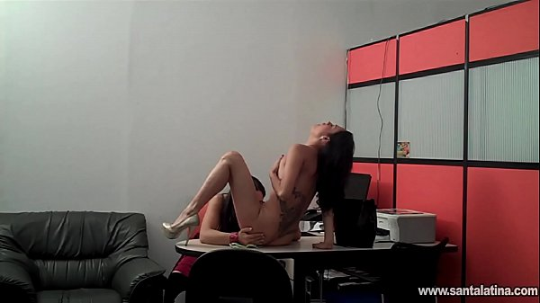 The secretary gets naughty with her client
