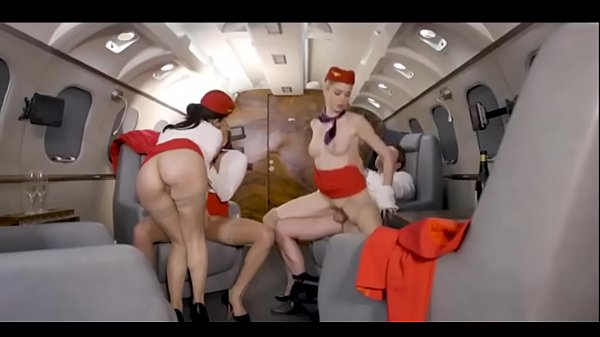 3 Stewardesses Taken Fuck On Hott9.com