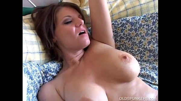 Beautiful busty old spunker loves to play with her juicy pussy