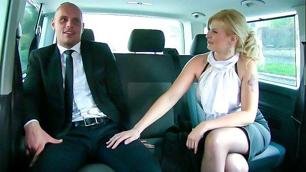 VIP SEX VAULT – Big ass blonde Barbara Nova rides horny driver