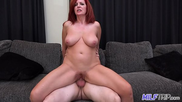 MILFTRIP Big Tit Redhead MILF Creams On Big Dick Fountain Of Youth Thumb