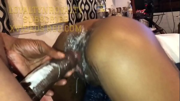 Maximum Security Horse Dick Loyalty! Fucks QueenRoyalty! And Cums Deep in Her and on Her Ass!