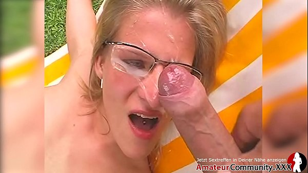 Blonde chick with glasses toys her cunt & get gets fucked hard! amateurcommunity.xxx