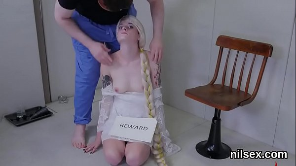 Slutty girl was taken in anal madhouse for awkward treatment