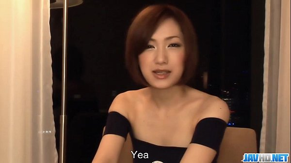 Subtitles - Japanese babe Nene Iino suck dick
